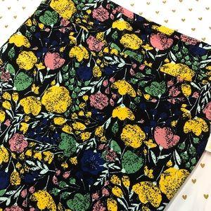 🆕 LuLaRoe Floral Cassie Skirt - Size 3X